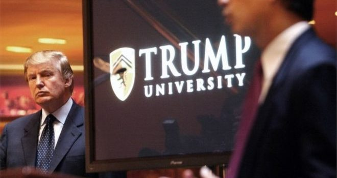 Trump settles Trump University lawsuits for $25m