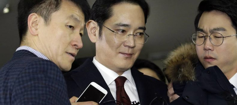 Prosecutors to seek arrest warrant for Samsung heir