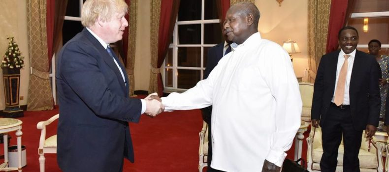 Museveni, UK Minister Discuss Trade, Investment