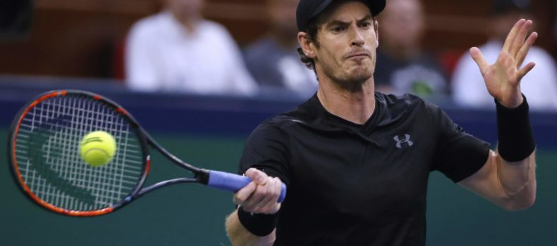 Andy Murray returns from injury against Roger Federer in charity match
