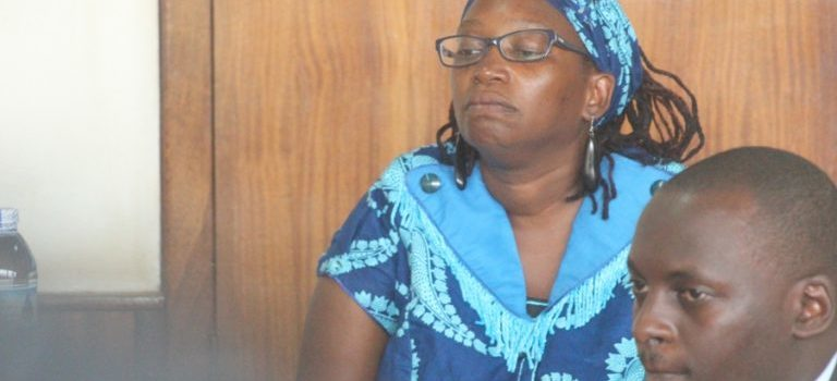 Journalists Blocked from Stella Nyanzi case