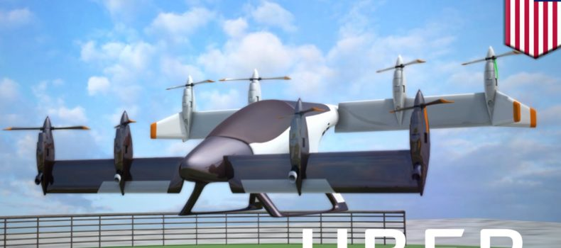 Uber To Partner With Plane Manufacturers Develop Flying Cars By 2020