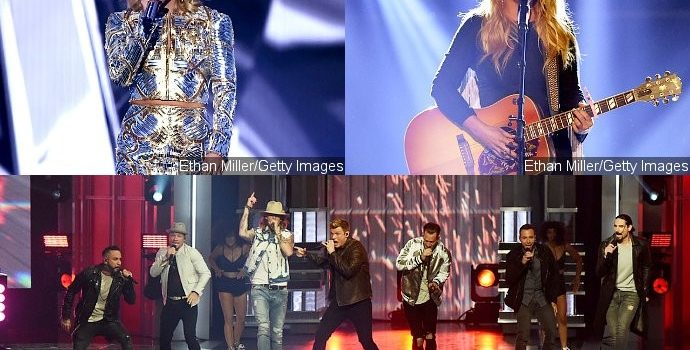 ACM Awards 2017: Watch Performances of Carrie Underwood, Backstreet Boys, Miranda Lambert and More