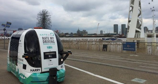 Driverless shuttle bus to be tested by public in London