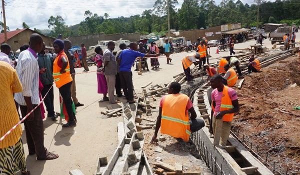 Council officials cites poor workmanship on Kaguta Road