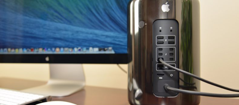 Apple admits that  Mac Pro design was a bad bet