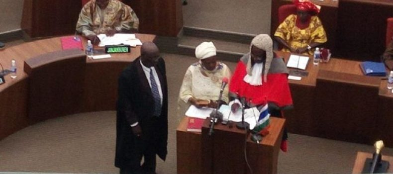Gambian parliament picks a female lawyer as new speaker