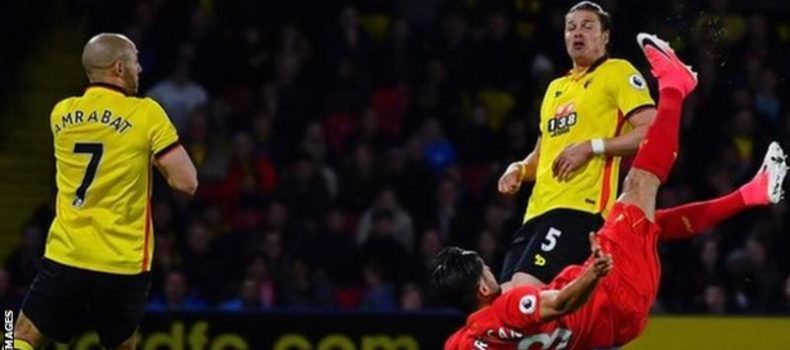 Can Goal Helps Liverpool Beat Watford