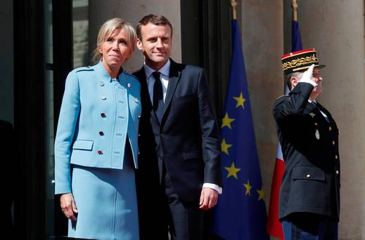 France's President,Emmanuel Macron inaugurated at Elysee Palace