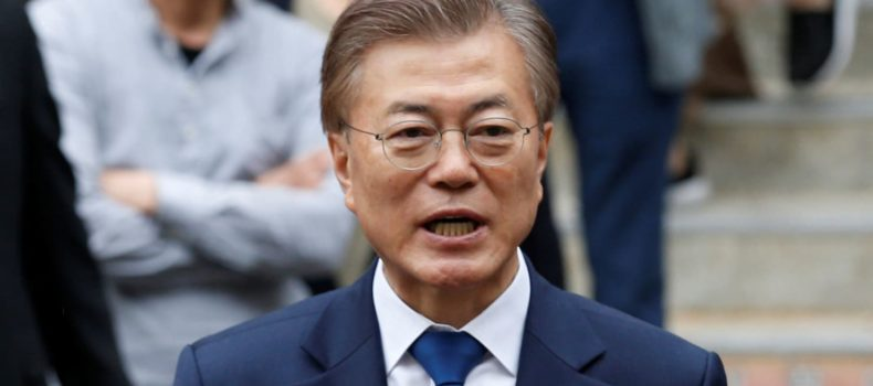 Moon Jae-in the next South Korean president