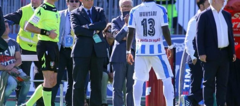 Sulley Muntari: Italy FA's anti-racism chief 'would go on strike'