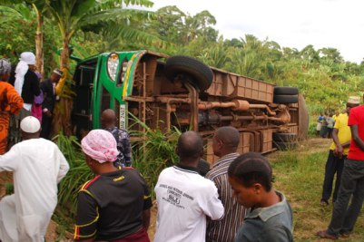 Bundibugyo accident injures 10