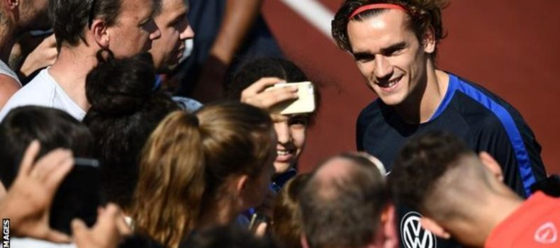 Antoine Griezmann: Man Utd cool interest as foward suggests he will stay in Madrid