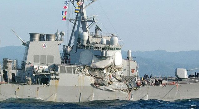 Missing sailors found dead after collision off Japan