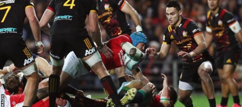 British and Irish Lions beat Chiefs in final All Blacks warm-up