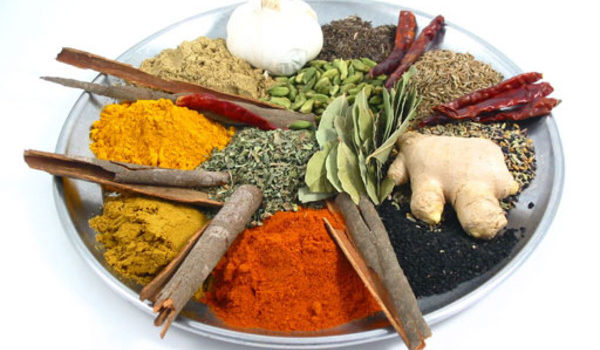 Health benefits of spices in food