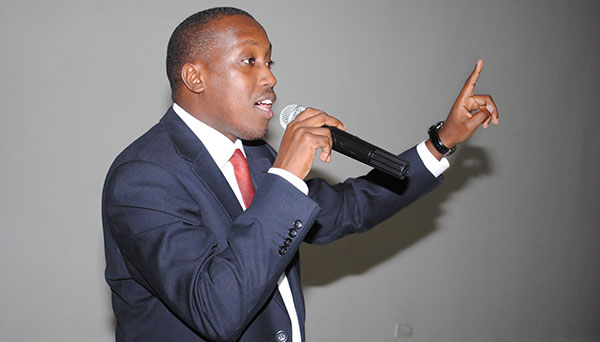 MP Gerald Karuhanga starts campaign to empower unemployed youth