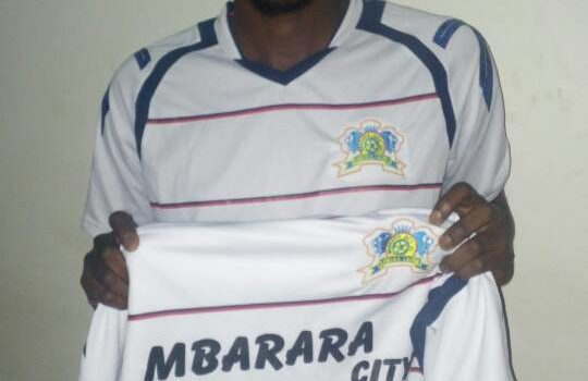 Transfer: Mbarara City Fc sign Pistis Barenge from Vital'O fc