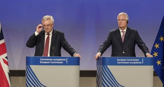 Brexit: UK and EU at odds over 'exit bill'