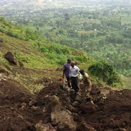Mbale Landslide Kills One and injures another