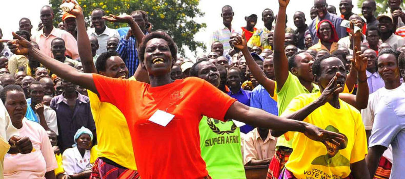 NRM Supporters  in Lira Hold Procession in Support of Age Limit Removal