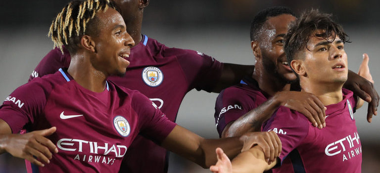 Man City beat Real Madrid 4-1 in International Champions Cup