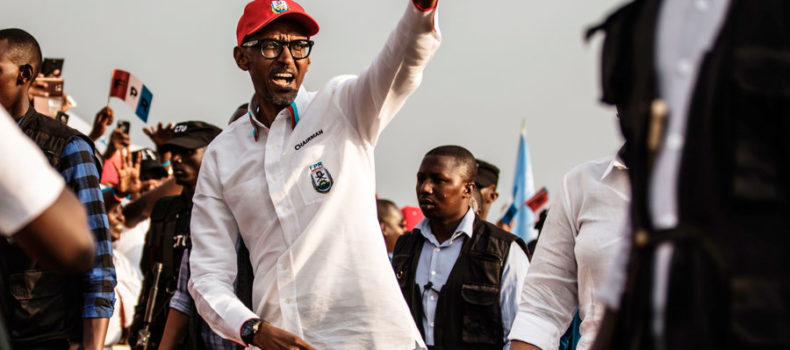 Rwanda's Kagame re-elected with landslide victory