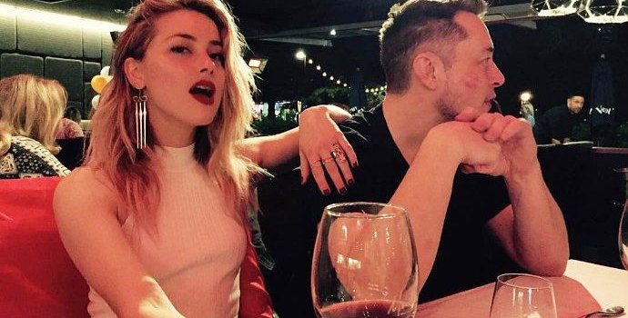 Amber Heard and Elon Musk Call It Quits After a Year of Dating