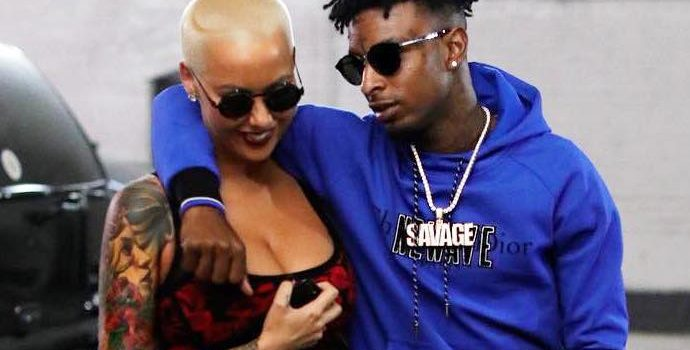 Amber Rose Reveals She's Going to Marry 21 Savage