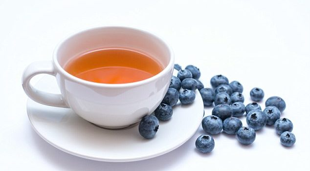 Reach for tea, red wine and blueberries to prevent flu taking hold!