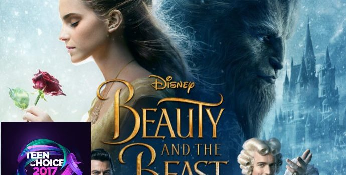 Teen Choice Awards 2017: 'Beauty and the Beast' Edges Out Competition in Movie Field