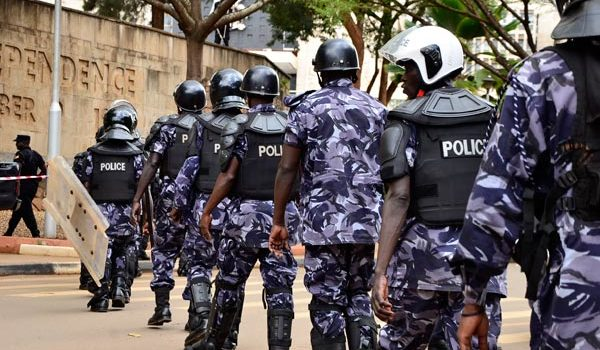 Police Deploys Heavily In Kampala Ahead Of Age Limit Debate Today