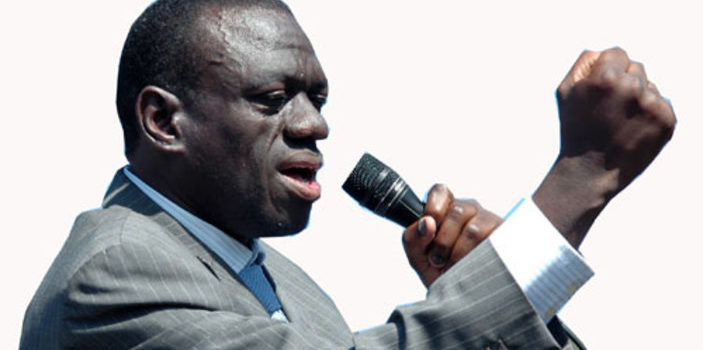 FDC's Besigye campaigns for Naigaga in Iganga today