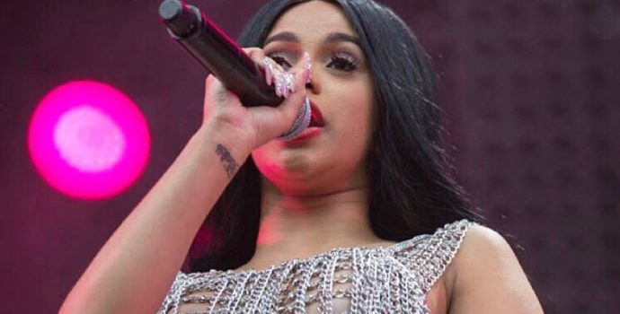 Cardi B Suffers Nip Slip at Made in America Festival