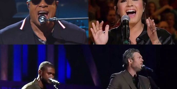 Stevie Wonder, Usher, Blake Shelton, Demi Lovato and More Perform in 'Hand in Hand' Telethon