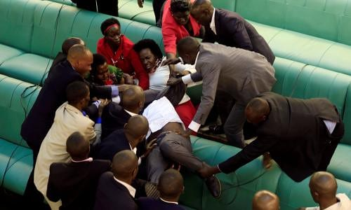 Special Forces Deny Deployment Parliament