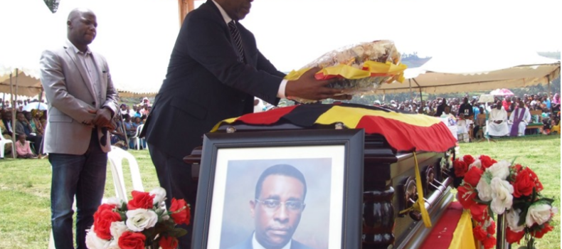 Mourners Boo Nankabirwa at Dr. Rwendeire's Funeral Over Age Limit