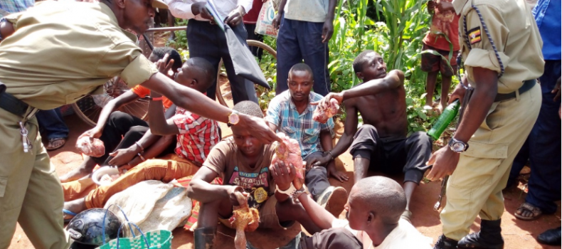 6 Arrested in Ibanda For Theft