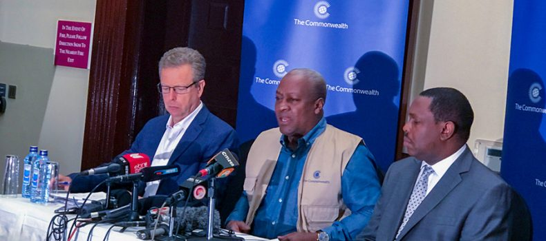 Commonwealth Observers Pull out of Kenya's Repeat Presidential  Poll