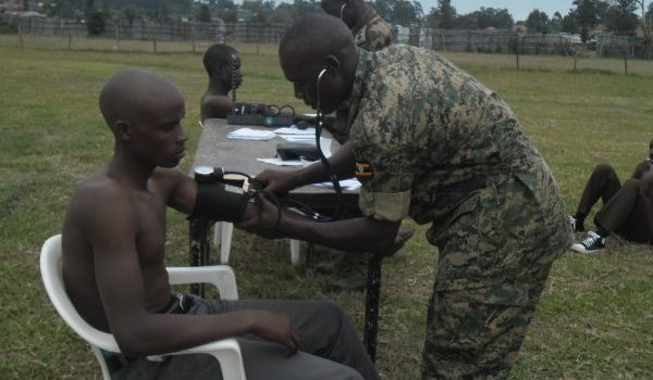 Hundreds Disqualified in UPDF Recruitment Exercise