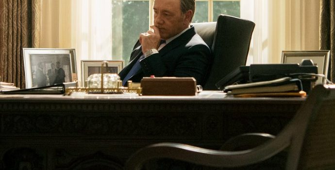 Netflix Axes Kevin Spacey From 'House of Cards'