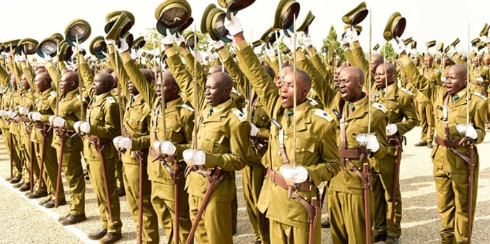President Museveni commissions officer cadets at Kabamba
