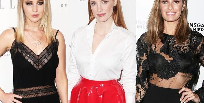 Jennifer Lawrence and Jessica Chastain Support Catt Sadler's E! News Exit Over Pay Dispute