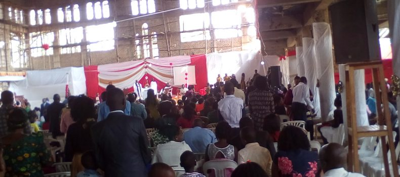 Christians in Mbarara Urged to work hard in 2018