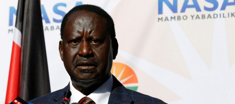 Kenya's opposition leader Raila to form own government after swearing-in