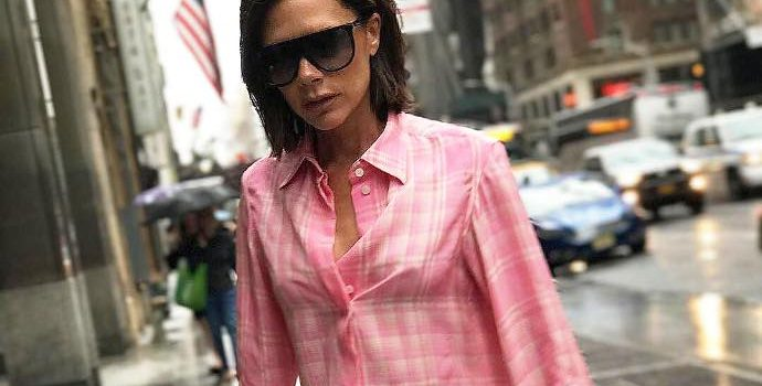 Victoria Beckham Faces Backlash After Using 'Stick Thin' Models for New Fashion Ads