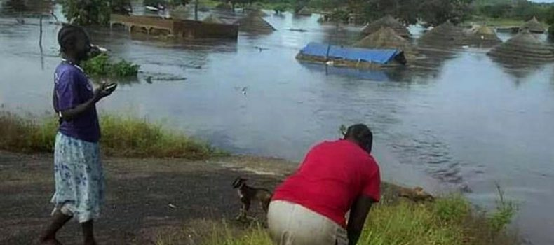 Elegu Floods Hit Again, Business on Uganda-South Sudan Boarder on Standstill