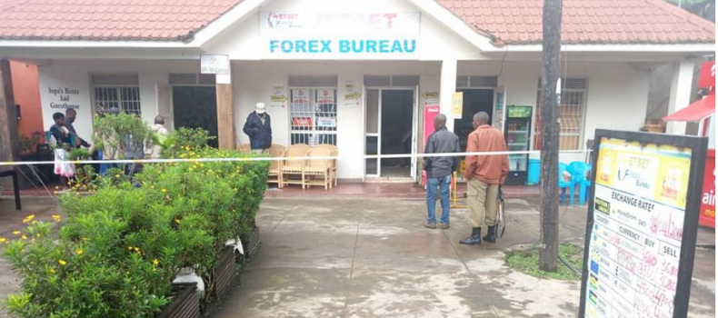 Thugs Steal UGX 30M at Kisoro Forex Bureau