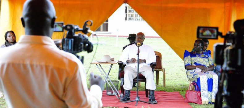 Museveni Threattens to Close Radio Stations That don't Prioritize Development Programmes