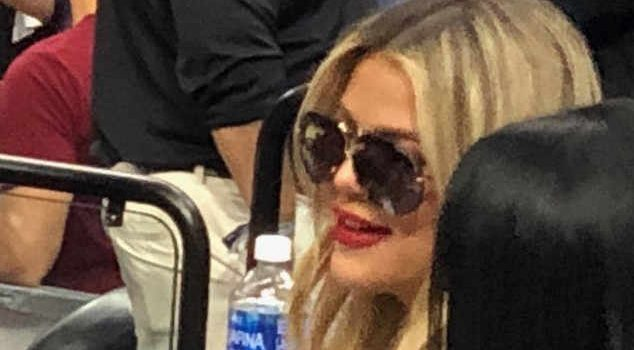 Khloe Supports Tristan at Basketball Game After Cheating Scandal